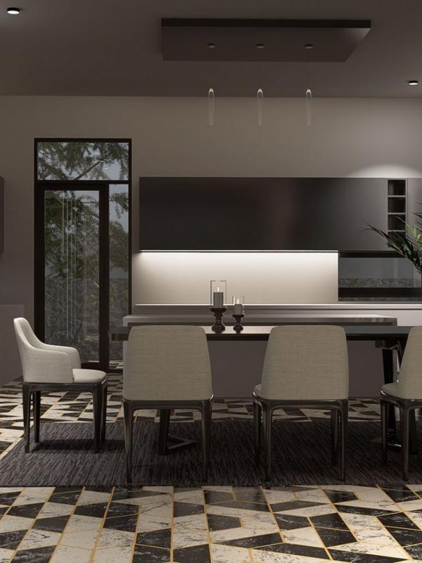 Interior-Dinning-Render
